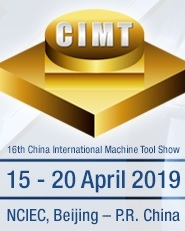 CIMT 2019 – China CNC Machine Tool Show (15th/20th April 2019)