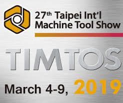 TIMTOS 2019 – Taiwanese machine Tool Show (4th/9th March 2019)