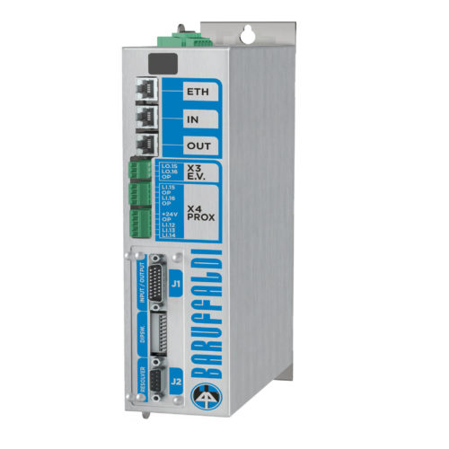 New Baruffaldi ServoDrive: with EtherCAT and Profinet comunication